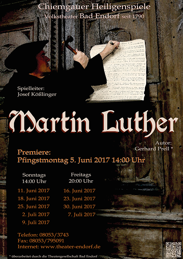Plakat - Martin Luther
